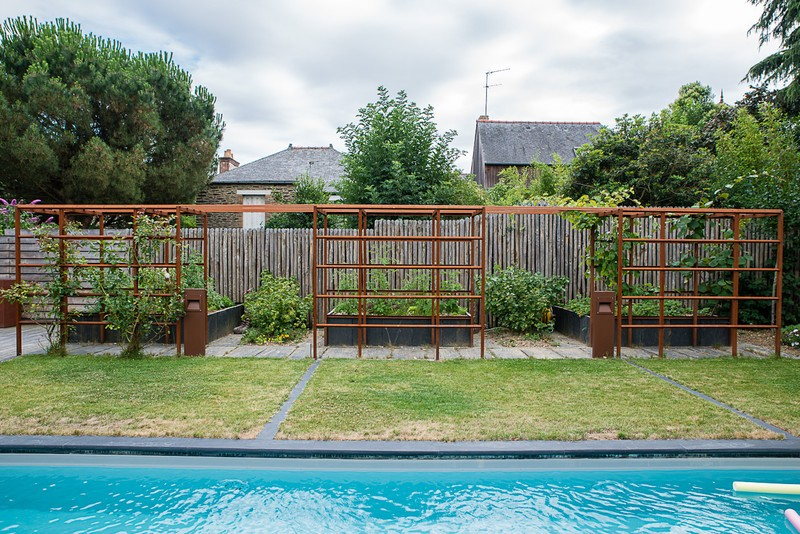 amnagement dun jardin priv