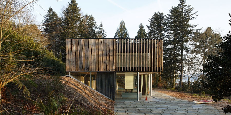 Maison d 29 le bois local en bretagne usages - Maison rustique dan joseph architects ...