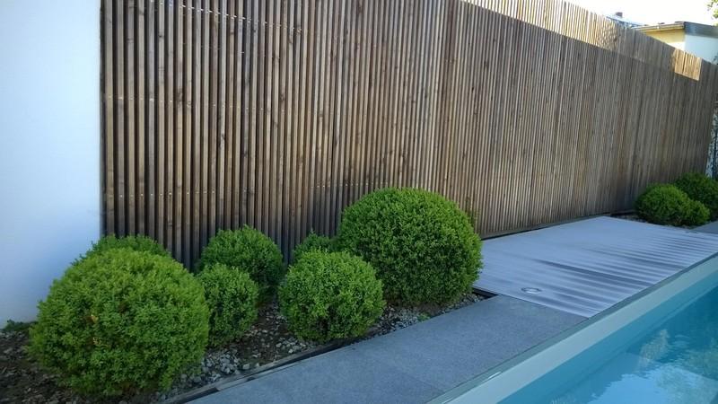 Am nagement d 39 un jardin priv 35 le bois local en for Amenagement jardin 35